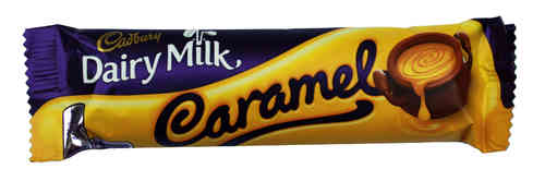 Cadbury Caramel Chocolate Bar, 45g