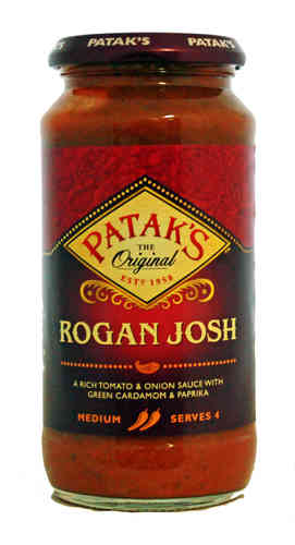 Pataks Rogan Josh Cooking Sauce, 450g