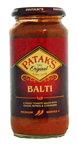Pataks Balti Cooking Sauce, 450g