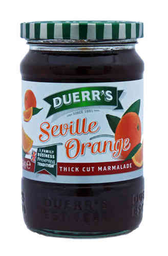 Duerr's Thick Cut Seville Orange Marmalade, 454g