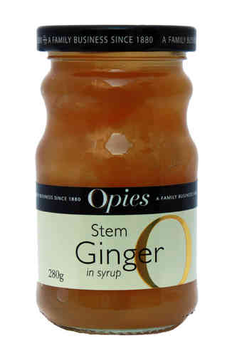Opies Stem Ginger in Syrup, 280g
