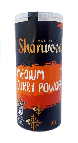 Sharwood's Medium Curry Powder aus England, 102g