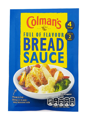 Colman's Bread Sauce Mix, 40g