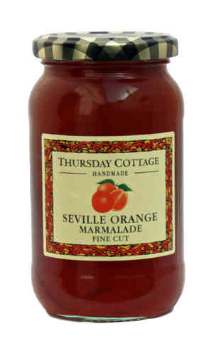 Thursday Cottage Handmade Fine Cut Seville Orange Marmalade, 454g