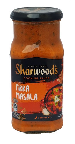Sharwood's Tikka Masala Curry Cooking Sauce, 420g