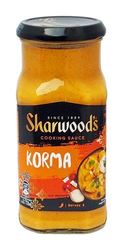 Sharwood's Mild Korma Curry Sauce, milde Currysoße, 420g