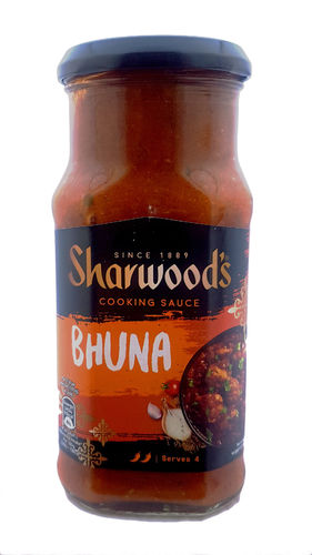 Sharwood's Medium Spicy Bhuna Curry Cooking Sauce, 420g