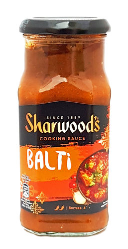 Sharwood's Medium Spicy Balti Curry Cooking Sauce, 420g