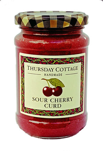 Thursday Cottage Sour Cherry Curd, Aufstrich aus Sauerkirschsaft, 310g