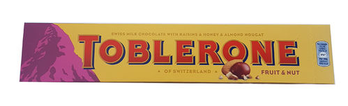 Toblerone Fruit & Nut Large Chocolate Bar 360g