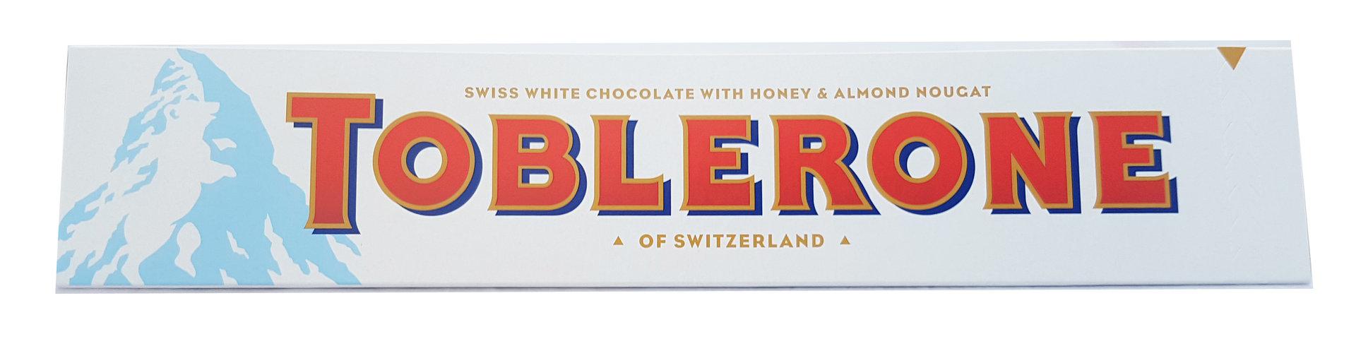 Toblerone Large White Chocolate Bar 360g