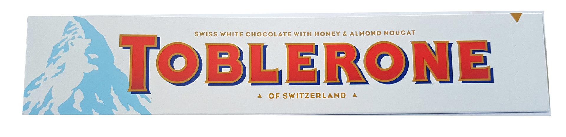 Toblerone Large White Chocolate Bar 360g Piece Of Uk