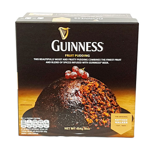 Matthew Walker Guinness Fruit Christmas Pudding, Weihnachtspudding, 454g