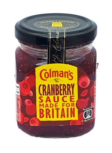 Colman's New Whole Berry Cranberry Sauce, Preiselbeersauce, 165g