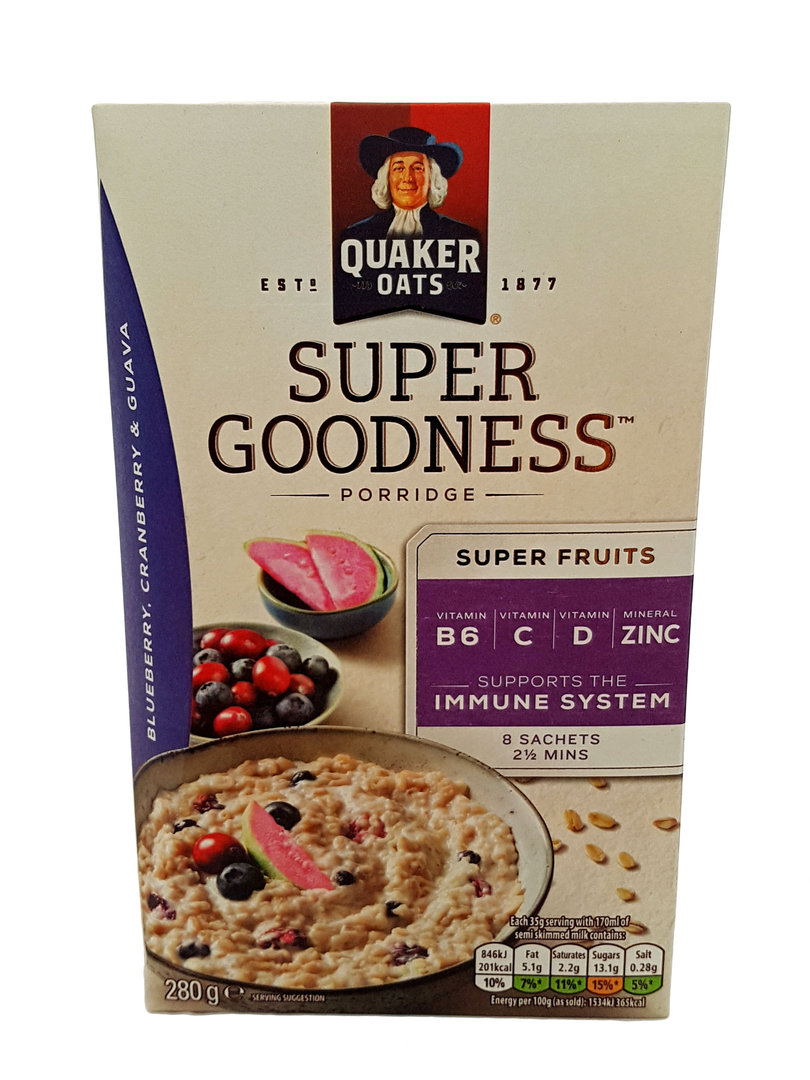 About this item; Made with heart healthy*, % whole grain Quaker Oats. *Diets rich in whole grain foods and other plant foods and low in saturated fat & cholesterol may help reduce the risk of .