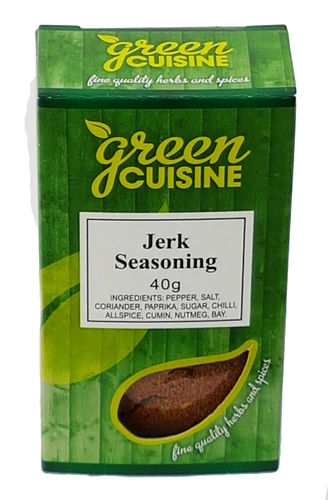 Green Cuisine Jerk Seasoning Mix, 40g