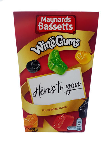 Maynards Bassetts Wine Gums, Weingummis, 400g