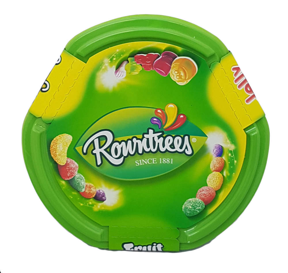 Rowntrees Tub with Fruit Pastilles, Jelly Tots and Randoms