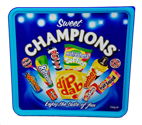 Sweet Champions Assortment, Süßigkeitensortiment, 750g