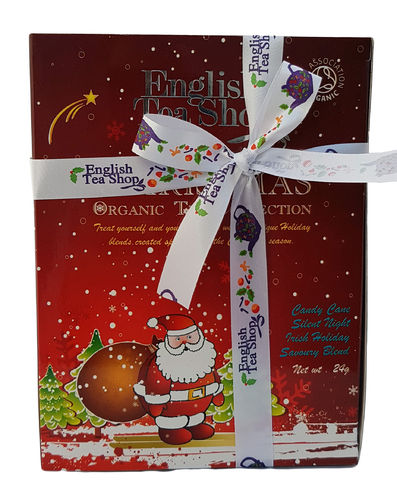 English Tea Shop Organic Santa Tea Collection, 12 Teabags