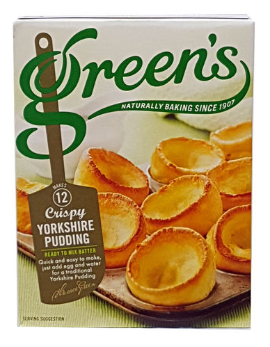 Green's Yorkshire Pudding Mix 125g