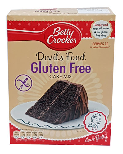 Betty Crocker Devil's Food Gluten Free Cake Mix, 425g
