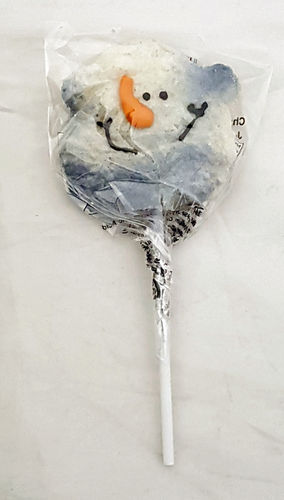 Sweet Occasions Christmas Hand Decorated Jelly Pops Snowman 28g