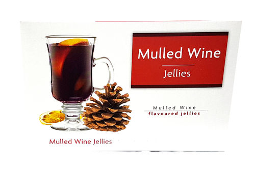 Kingsway Mulled Wine Flavoured Jellies, 150g
