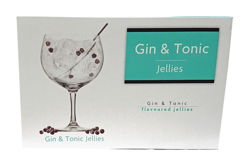 Kingsway Gin & Tonic Flavoured Jellies 175g