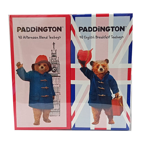 Paddington Bear Tea Carton Gift Pack, 80 Teabags, 245g
