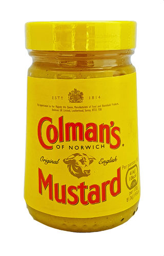 Colman's Original English Mustard, Senf, 170g