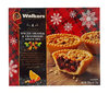 Walkers 4 Luxury Spiced Orange & Cranberry Mince Pies 200g