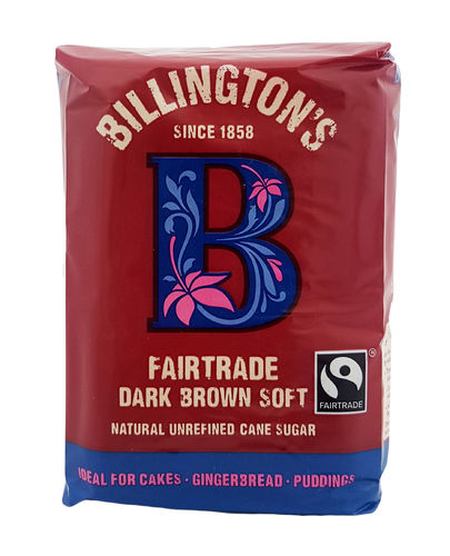 Billingtons Fairtrade Natural Dark Brown Soft Sugar , Brauner Zucker